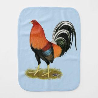 Paño Para Bebés Gallo de trigo del gallo de pelea