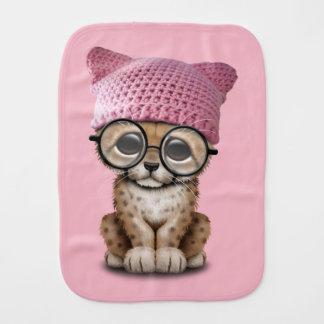 Paño Para Bebés Gorra del gatito de Cub del guepardo que lleva