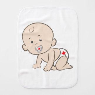 Paño Para Bebés Gráfico de arrastre del bebé de Canadá