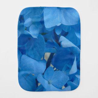 Paño Para Bebés Hydrangeas azules