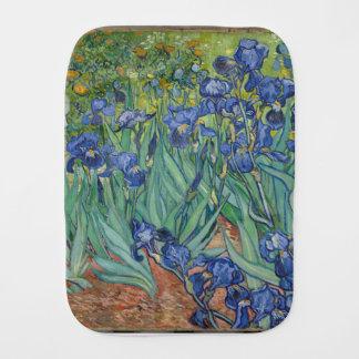 Paño Para Bebés Iris de Vincent van Gogh que pintan el trabajo de