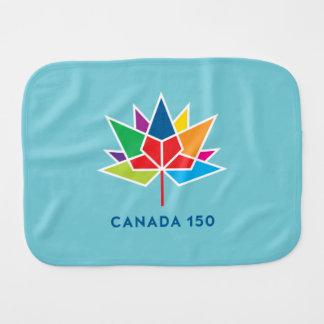 Paño Para Bebés Logotipo del funcionario de Canadá 150 -