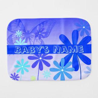 Paño Para Bebés Mariposas 3 de la flor del duendecillo
