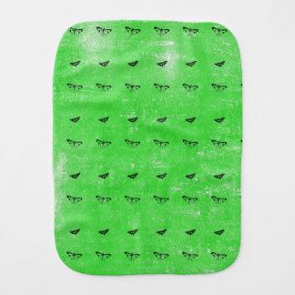 Paño Para Bebés Mariposas verdes