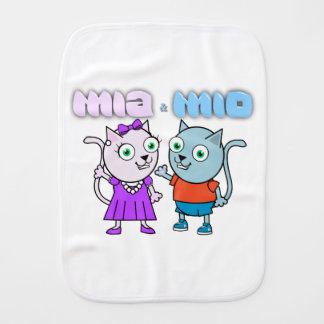 Paño Para Bebés Mia y Mio