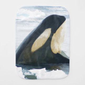Paño Para Bebés Orca de la orca
