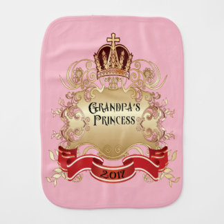 Paño Para Bebés Princesa Burp Cloth