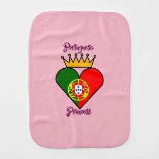 Paño Para Bebés Princesa portuguesa Burp Cloth