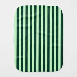 Paño Para Bebés Rayas finas - verdes claras y verde oscuro