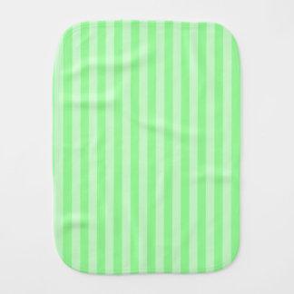 Paño Para Bebés Rayas finas - verdes y verdes claras