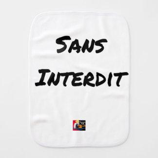 Paño Para Bebés SIN PROHIBICIÓN - Juegos de palabras - Francois