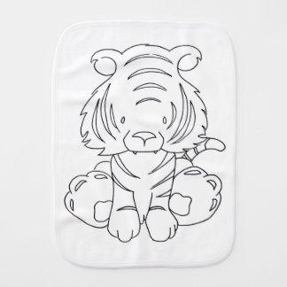 Paño Para Bebés Tigre