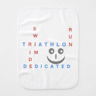 Paño Para Bebés Triathlon soy dedicado