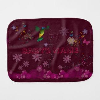 Paño Para Bebés Un pintor del colibrí