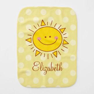 Paño Para Bebés Usted es mi bebé soleado sonriente lindo feliz de