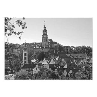 Panorama de la ciudad Cesky Krumlov Foto