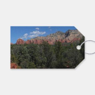 Panorama de rocas rojas en Sedona Arizona Etiquetas Para Regalos