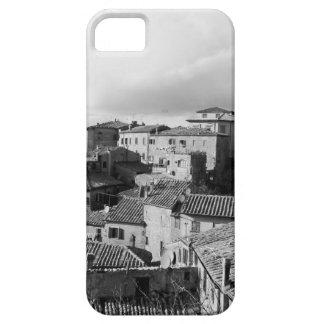 Panorama del pueblo de Volterra, provincia de Pisa Funda Para iPhone SE/5/5s