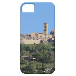 Panorama del pueblo de Volterra, Toscana, Italia Funda Para iPhone SE/5/5s