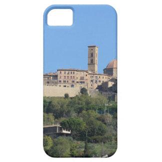 Panorama del pueblo de Volterra. Toscana, Italia Funda Para iPhone SE/5/5s
