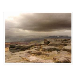 Panorama del valle de la esperanza - postal