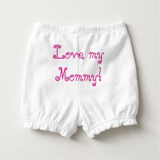 """Pantalones """"bonito del pañal de la niña en rosa"""". cubrepañal"""