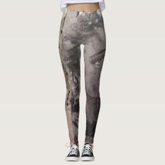 Pantalones con arte