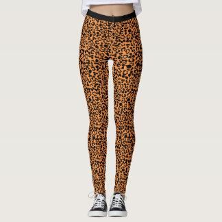 Pantalones cortos de la bici del leopardo