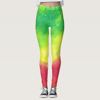 Pantalones de la yoga de las polainas de la