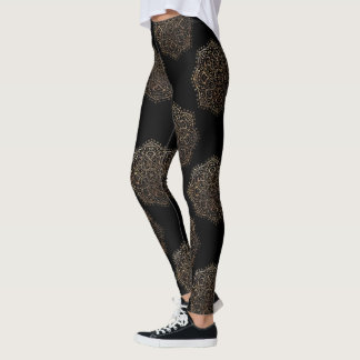 Pantalones negros de la yoga de Boho del zen del