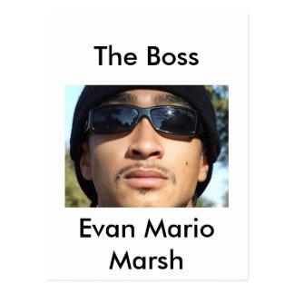 Pantano de Evan Mario Postal