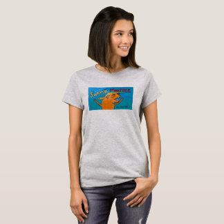 PANTANO MONSTER de la camisa de las mujeres '