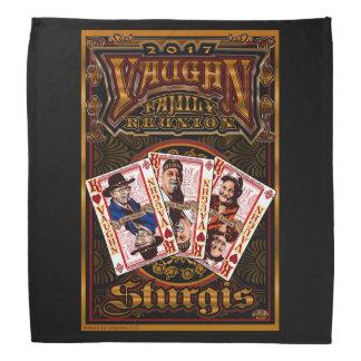 Pañuelo 2 del negro de la reunión de Vaughn de la