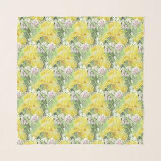 Pañuelo Acuarela alta amarilla del iris barbudo