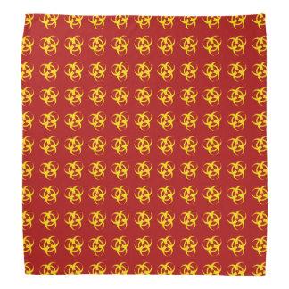 Pañuelo amarillo del Biohazard