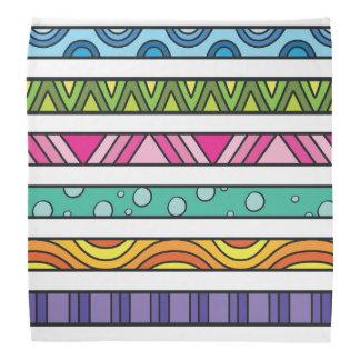 Pañuelo colorido de los huéspedes