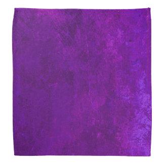 Pañuelo concreto púrpura bandana