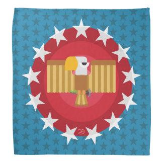Pañuelo de Eagle de la libertad (azul) - Bandana