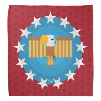 Pañuelo de Eagle de la libertad (rojo) -