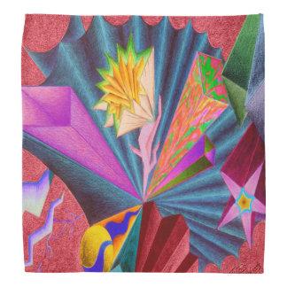 """Pañuelo de encargo colorido de Dwainizms """"Tetris"""