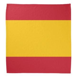 Pañuelo de la bandera de España