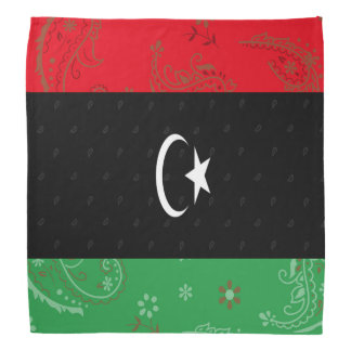 Pañuelo de la bandera de Libia