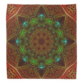 Pañuelo de la mandala de la bóveda del fuego bandana