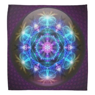 Pañuelo de la mandala de la flor de Fibonacci