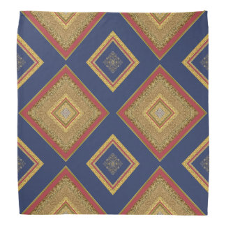 Pañuelo de la textura V1 del brillo del oro del Bandanas