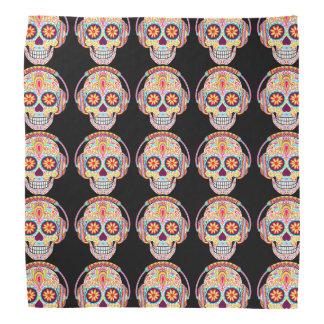 Pañuelo de los cráneos del azúcar - día del arte bandana