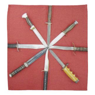 Pañuelo de los cuchillos del teatro
