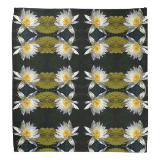 Pañuelo de Lotus blanco Waterlily