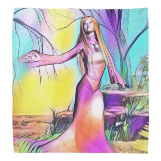 Pañuelo de madera de la princesa bandanas