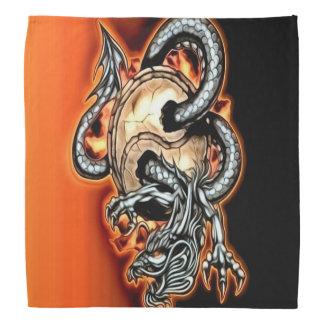 Pañuelo del dragón de Yin Yang